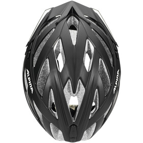 Alpina Panoma 2.0 City Cykelhjelm, black matt reflective